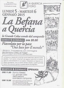 Befana Quercia 2015